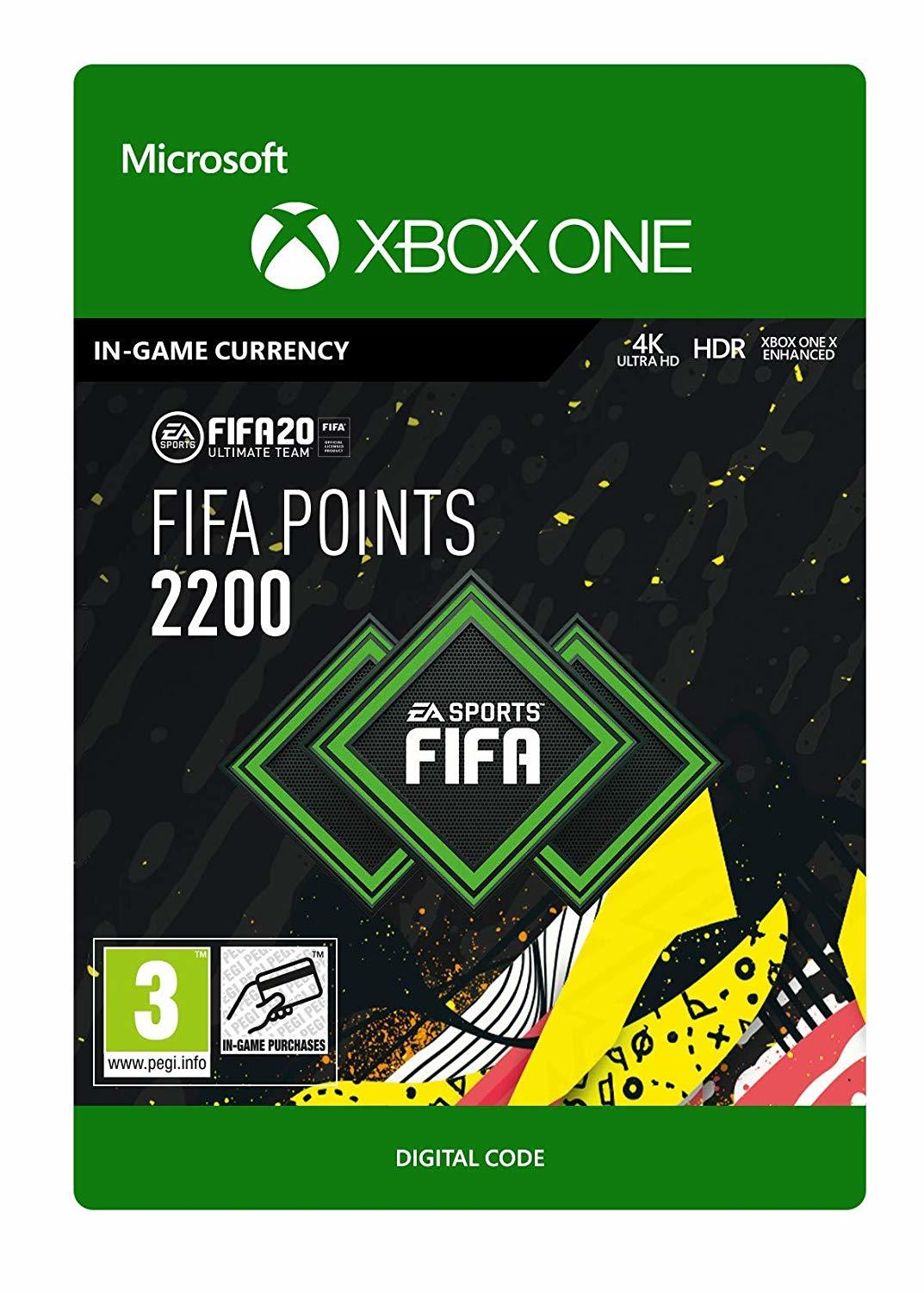 FIFA 20 Ultimate Team - 2200 FIFA Points for Xbox One (Digital Code) for Xbox One image