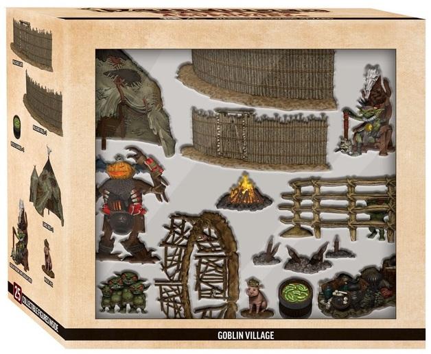 Pathfinder Battles: Legendary Adventures - Goblin Village Premium Set