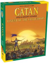Catan: Legend of the Conquerors - Cities & Knights Scenario image