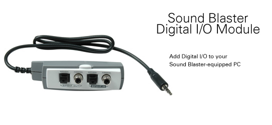 CREATIVE LABS Creative Soundblaster I/O Module image