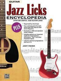 Jazz Licks Encyclopedia by Jody Fisher