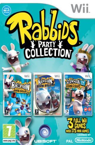 Rayman Raving Rabbids Trilogy Party Collection for Nintendo Wii