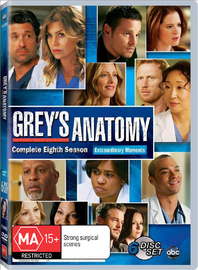 Grey's Anatomy - Complete Eighth Season on DVD