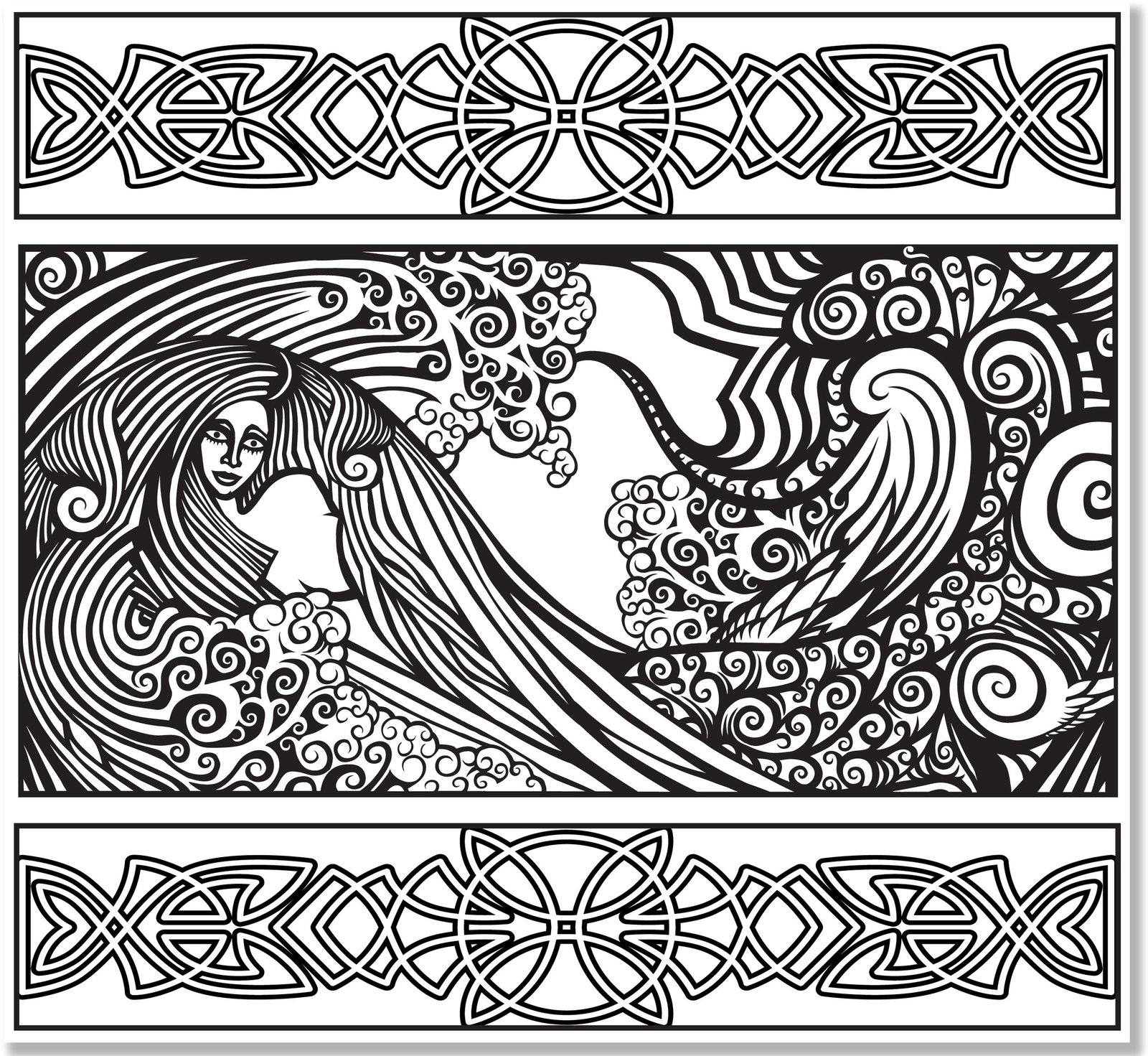 Celtic Designs Artists Coloring Book Studio Series Images At Mighty Ape NZ