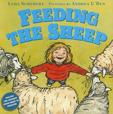 Feeding the Sheep by Leda Schubert image