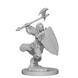 Pathfinder Deep Cuts: Unpainted Miniatures - Half-Orc Female Barbarian