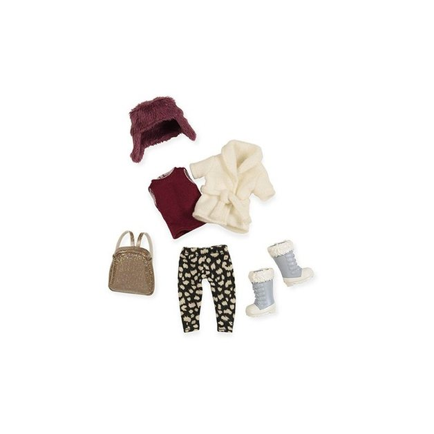 "Lori: 6"" Doll - Furry Hat Outfit"