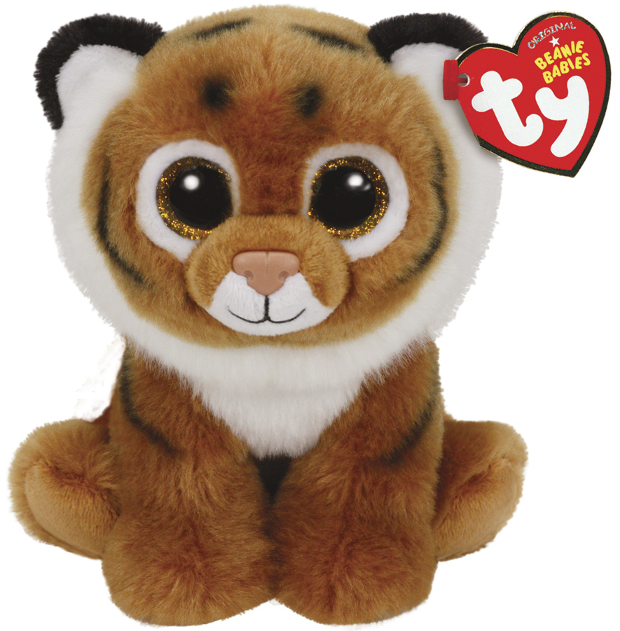 Ty Beanie Babies: Tiggs Tiger - Small Plush image