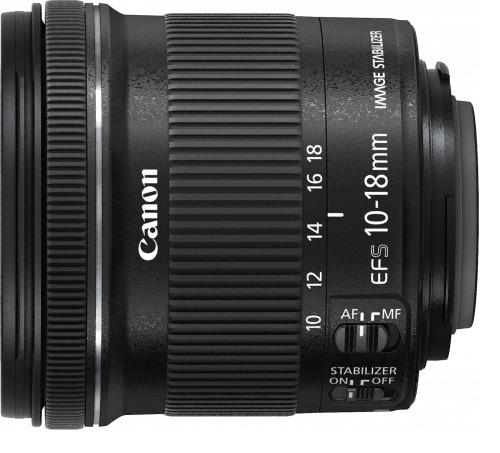 Canon: EF-S 10-18mm f/4.5-5.6 IS STM EF-S Mount Lens image