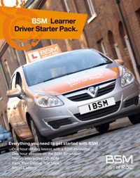 BSM Learner Driver Starter Pack by British School of Motoring image