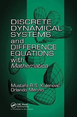 Discrete Dynamical Systems and Difference Equations with Mathematica by Mustafa R.S. Kulenovic image