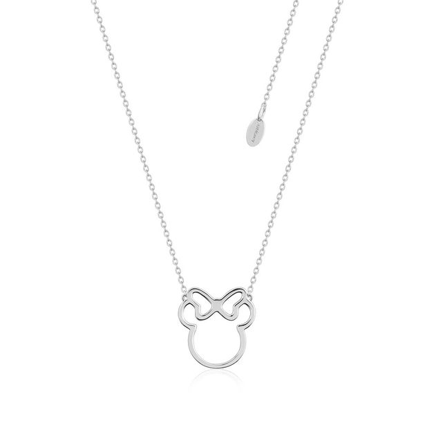 Couture Kingdom: Minnie Mouse Outline Necklace