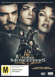 The Three Musketeers on DVD