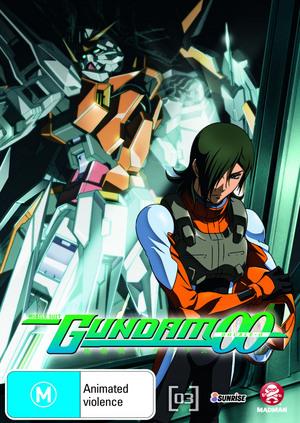Mobile Suit Gundam 00 Vol. 3 on DVD image