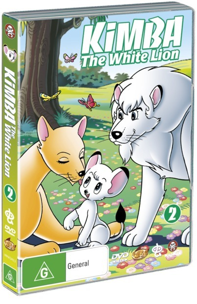Kimba The White Lion - Volume 2 (2 Disc Set) on DVD