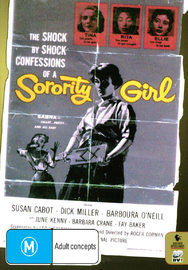Sorority Girl on DVD