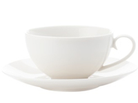 Maxwell & Williams: White Basics Luxurious Cup & Saucer (90ml)