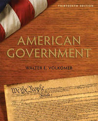 American Government by Walter E. Volkomer image