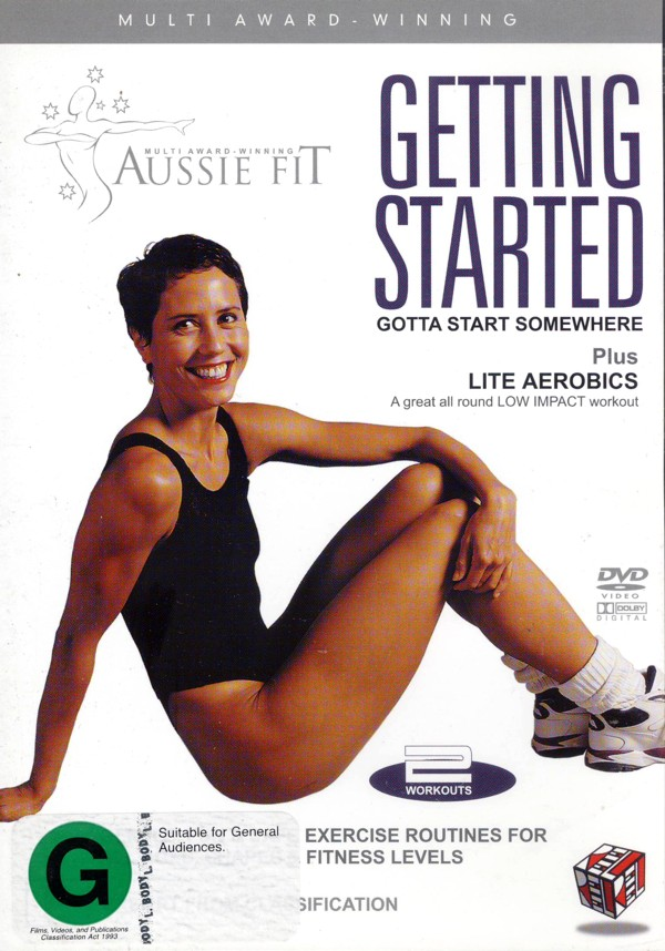 Aussie Fit - Getting Started on DVD image