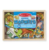 Melissa & Doug: Wooden Magnetic Animals in Box