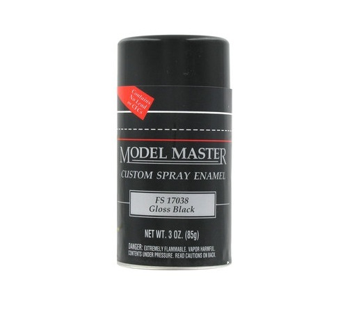 Model Master: Enamel Aerosol - Black (Gloss)