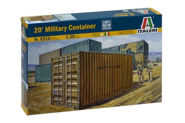 "Italeri 1/35 20"" Military Contaner - Scale Model Kit"