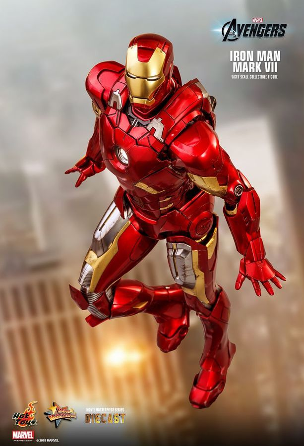 Marvel: Iron Man (Mark VI) - 1:6 Scale Diecast Figure image
