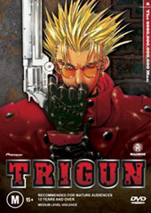 Trigun - Vol. 1: The $60,000,000,000 Man on DVD