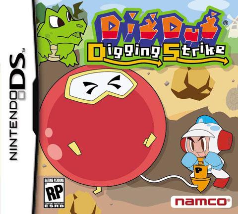 Dig Dug: Digging Strike for Nintendo DS
