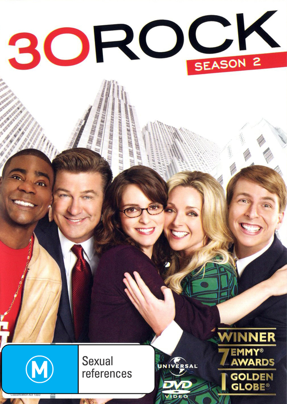 30 Rock - Season 2 (2 Disc Set) on DVD