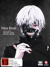 Tokyo Ghoul - The Complete First Season DVD