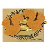Seedling: Cute as a Bell Felt Hair Clips - Squirrels