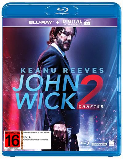 John Wick: Chapter 2 on Blu-ray image