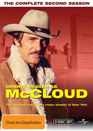 McCloud - The Complete Second Season (3 Disc Set) on DVD