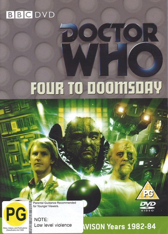 Doctor Who: Four to Doomsday on DVD