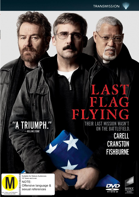 Last Flag Flying on DVD image
