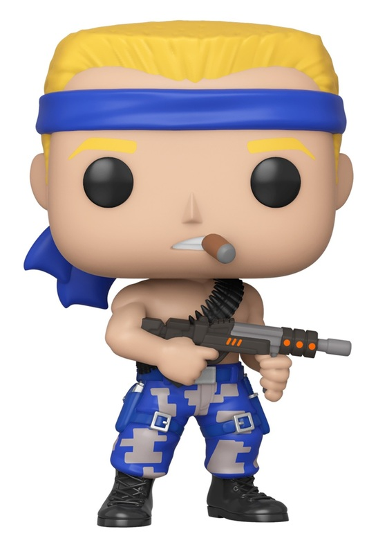 Contra: Bill - Pop! Vinyl Figure