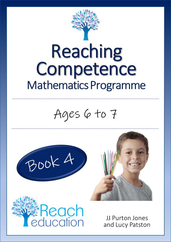 Reaching Competence Mathematics Programme - Book 4 by JJ Purton Jones & Lucy Patston