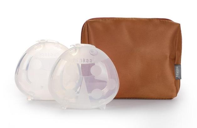 Haakaa: 150ml Ladybug 2-Pack - With Free Storage Bag (Caramel)