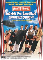 Monty Python: And Now For Something Completely Different on DVD
