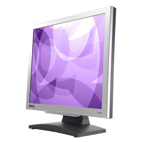 """BenQ FP91G+ 19"""" LCD Silver Monitor 1280 x 1024  8ms  250nits  550:1  D-Sub/DVI"""