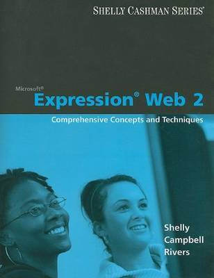 Microsoft Expression Web 2 by Gary B Shelly
