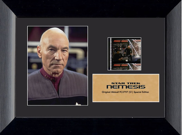 "Star Trek X Nemesis Mini-Cell Film Cell - Series 1 (7"" x 5"")"