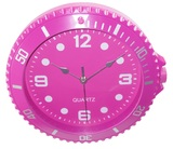 Executive Design Concepts Watch Wall Clock - Pink