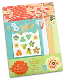 Lucky Flowers Mix and Match Stationery Set (Amy Butler) by Amy Butler