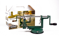 Apple Peeler/Corer With Suction Base - Green