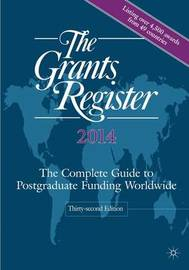 The Grants Register 2014