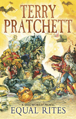 Equal Rites (Discworld 3 - The Witches/The Wizards) (UK Ed.) by Terry Pratchett image