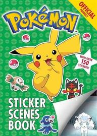 The Official Pokemon Sticker Scenes Book by Pokemon