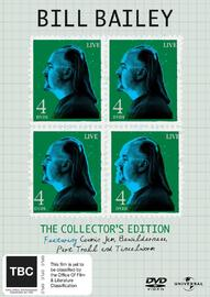 Bill Bailey - The Collector's Edition (Cosmic Jam / Bewilderness / Pure Troll / Tinselworm) (4 Disc Set) on DVD